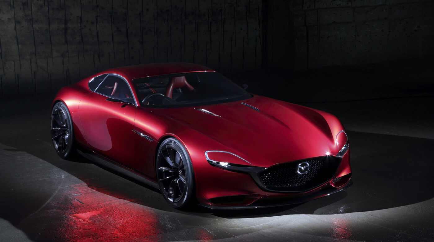 Beau The Mazda RX VISION Rotary Sports Car Concept Introduces The  Next Generation SKYACTIV R Rotary Engine And Mazdau0027s Vision Of The Ultimate  In Front Engine, ...