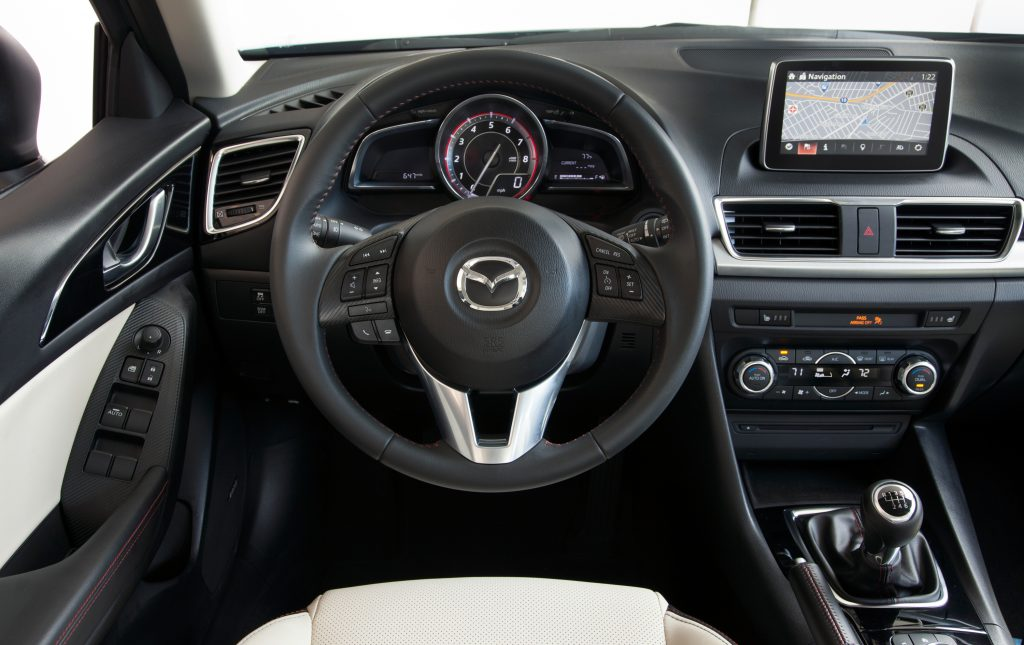 Fuel efficient cars 2016 Mazda 3