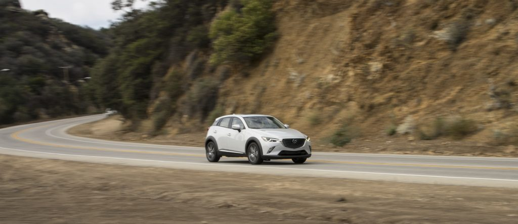 Mazda CX-3 crossover Top Safety Pick