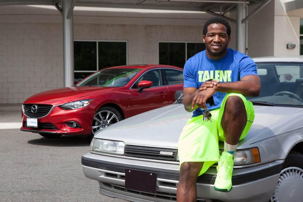 Alfred Morris Mazda 626 Car Dallas Cowboys