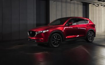 Mazda CX-5 Crossover SUV Red
