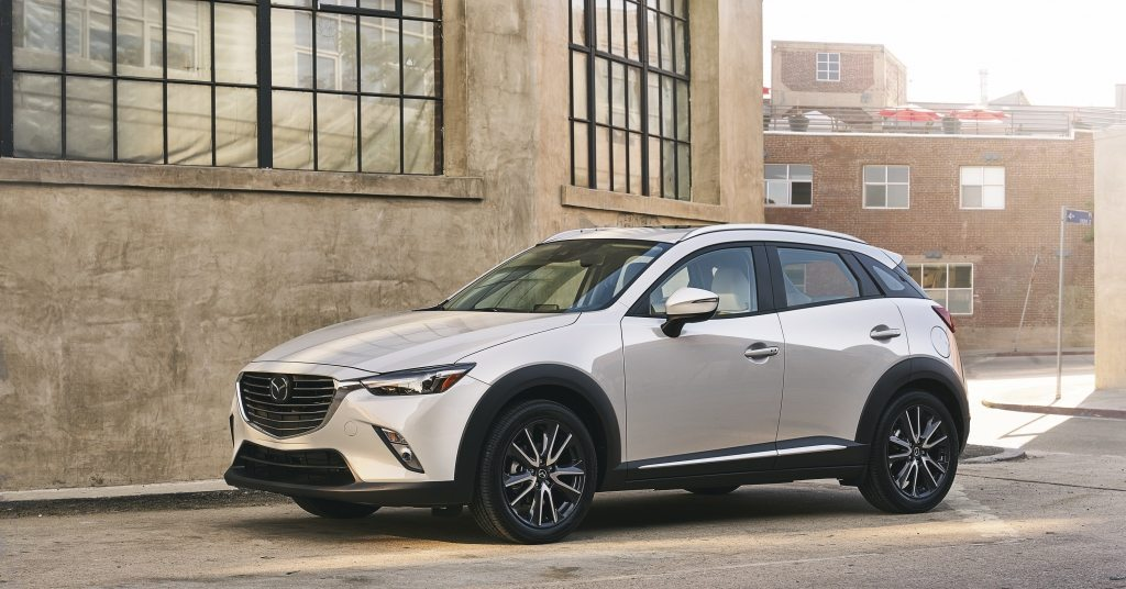 2018 Mazda CX-3 subcompact crossover SUV exterior photo