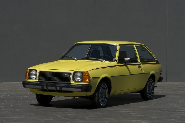 1978 Mazda GLC - 40 Years of Mazda 3 hatchback and sedans