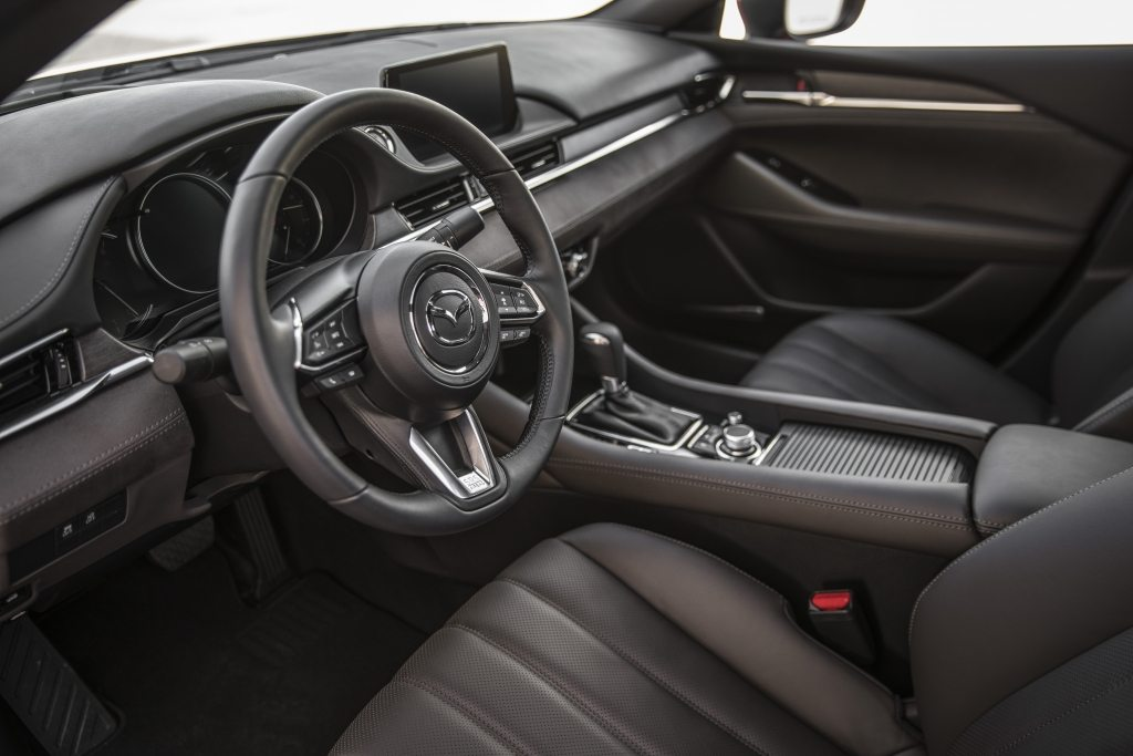 2019 Mazda 6 Sedan Nappa Leather Crafted Interior Inside Mazda
