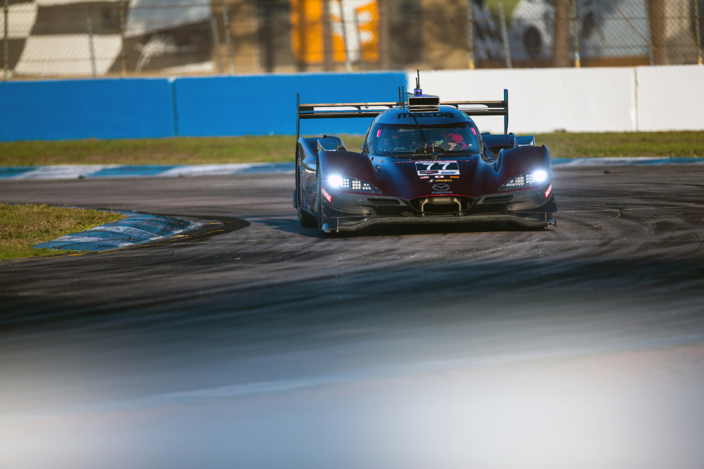 Mazda Motorsports Team Joest RT24-P race car prototype