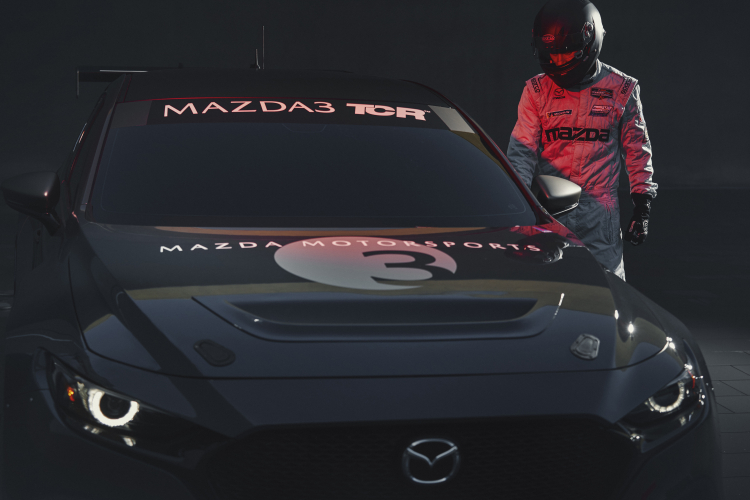Mazda 3 TCR race car Mazda3