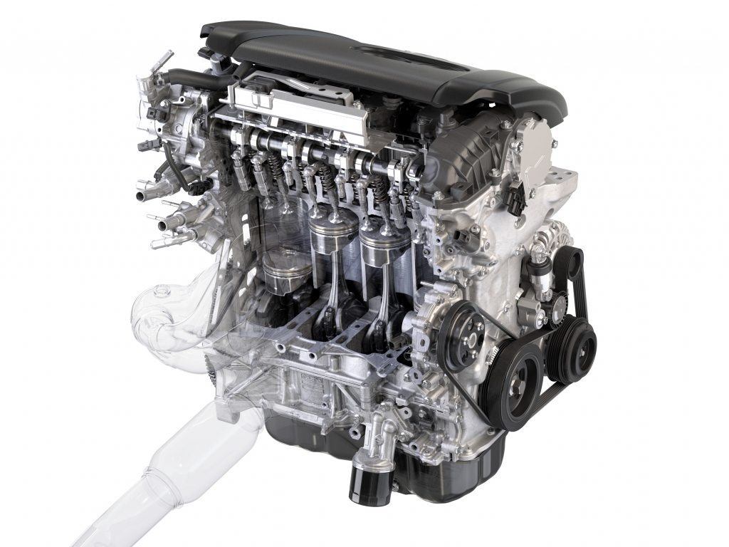 Mazda Cylinder Deactivation Fuel Efficient Engine